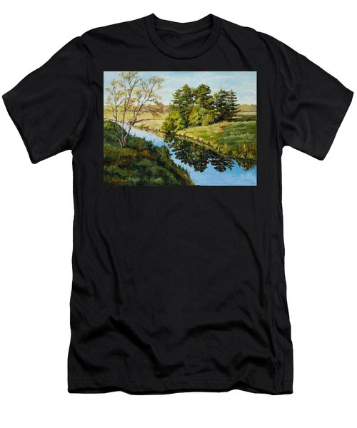 Illinois Countryside  Men's T-Shirt (Athletic Fit)