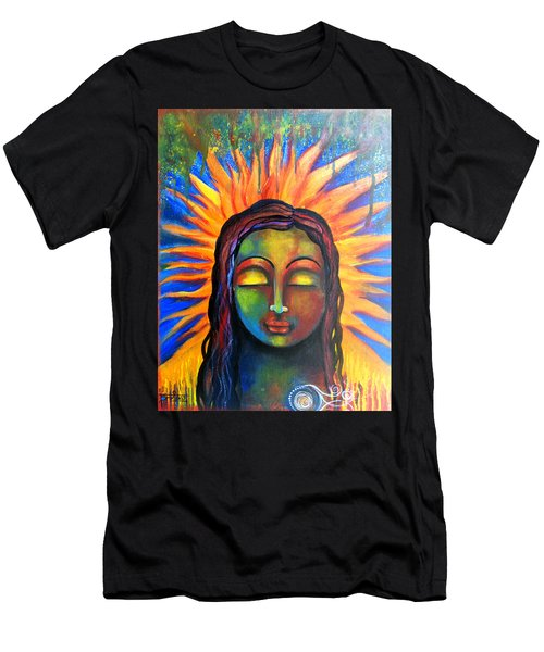 Illuminated By Her Own Radiant Self Men's T-Shirt (Athletic Fit)
