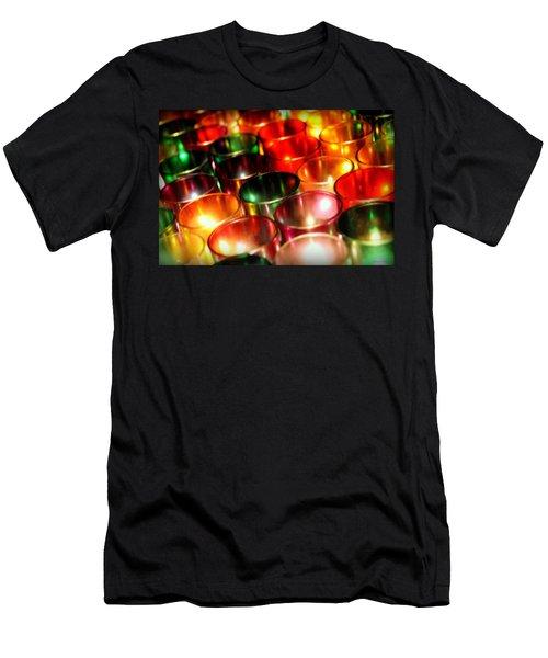 Illuminated Prayers Men's T-Shirt (Athletic Fit)