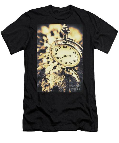 Illusive Time Men's T-Shirt (Athletic Fit)