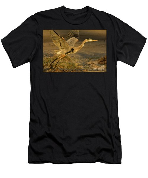 I'm Out Of Here Wildlife Art By Kaylyn Franks Men's T-Shirt (Athletic Fit)