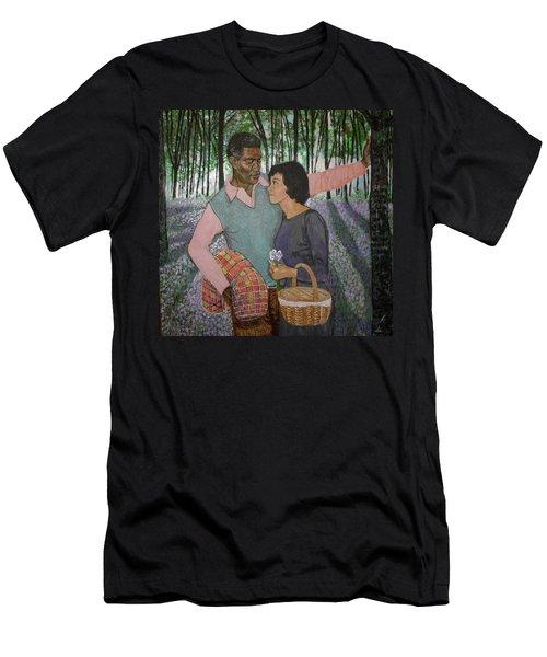 Imagine Love  Men's T-Shirt (Athletic Fit)