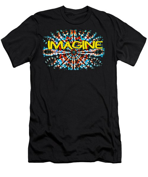 Imagine T-shirt Men's T-Shirt (Athletic Fit)