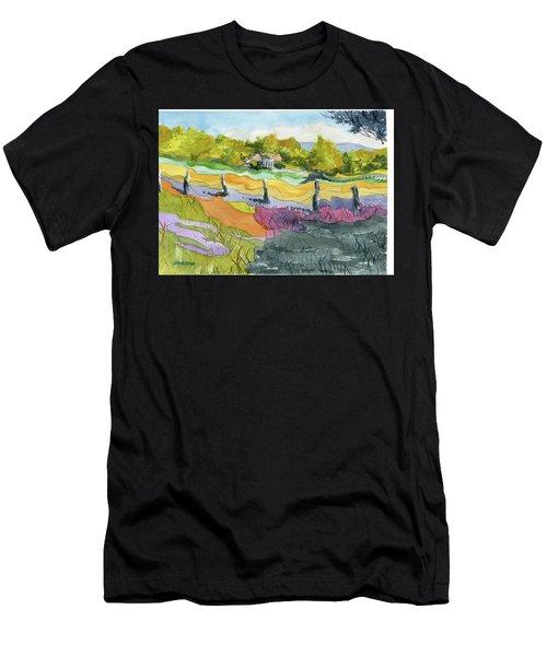 Imagine The Colors Men's T-Shirt (Athletic Fit)