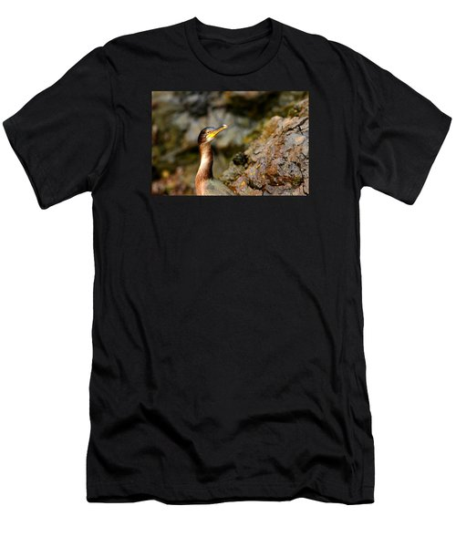 Men's T-Shirt (Slim Fit) featuring the photograph Immature Shag by Richard Patmore