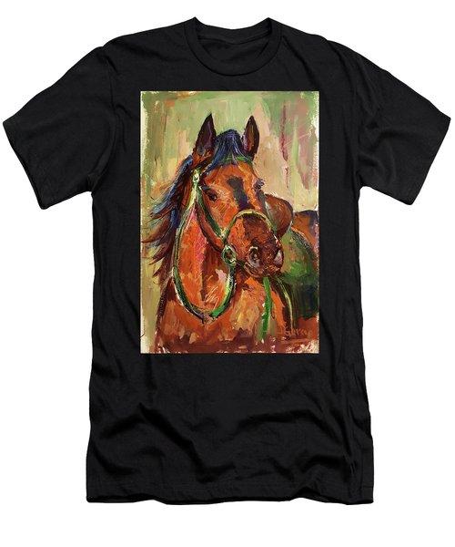 Impressionist Horse Men's T-Shirt (Athletic Fit)