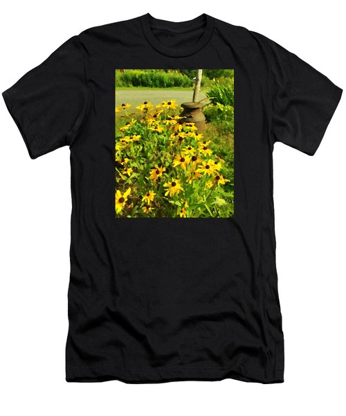Impressions Of A Country Garden Men's T-Shirt (Athletic Fit)