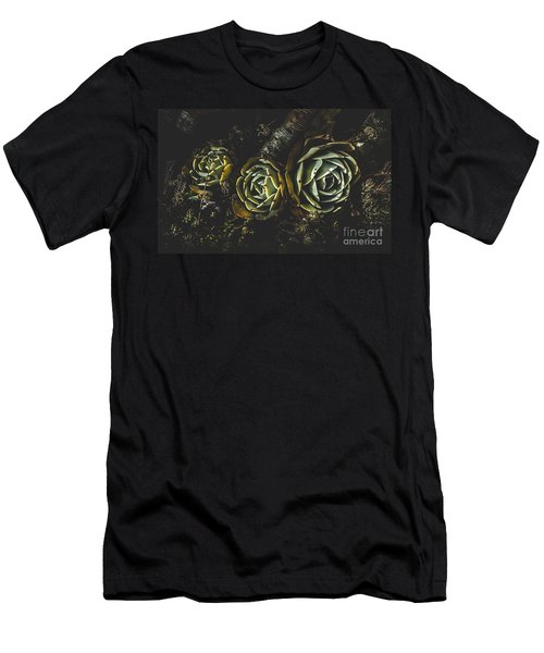 In Dark Bloom Men's T-Shirt (Athletic Fit)