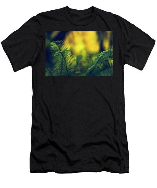 Men's T-Shirt (Athletic Fit) featuring the photograph In-fern-o by Gene Garnace