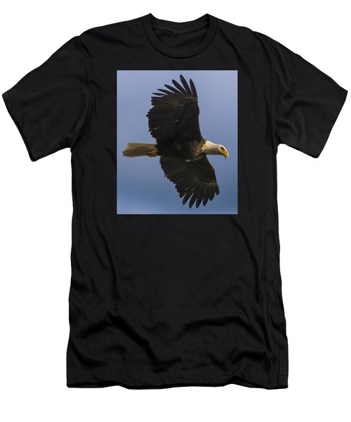 In Flight Men's T-Shirt (Slim Fit) by Gary Lengyel