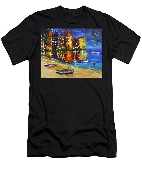 In For The Night Men's T-Shirt (Athletic Fit)