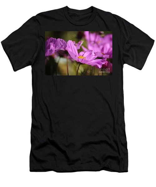 In Full Bloom Men's T-Shirt (Slim Fit) by Sheila Ping