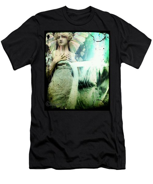 In Her Dreams She Could Fly Unfettered Men's T-Shirt (Athletic Fit)