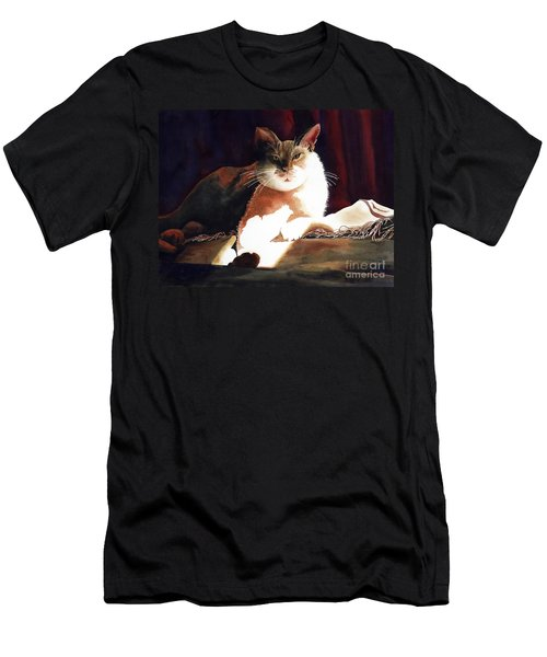 In Her Glory II               Men's T-Shirt (Slim Fit) by Kathy Braud