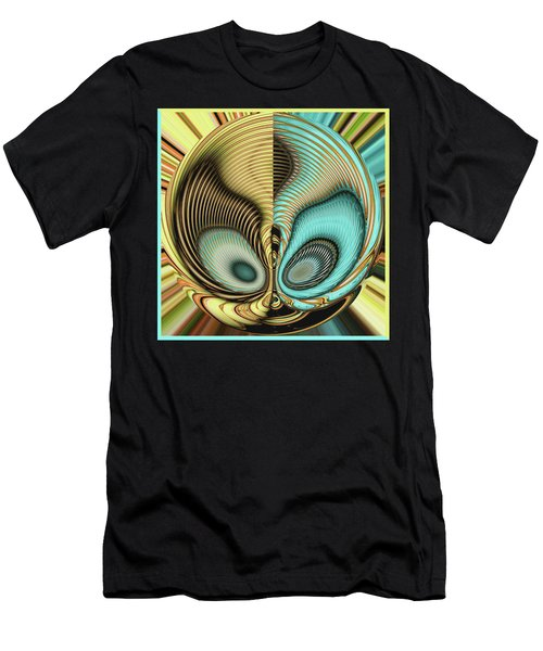 Men's T-Shirt (Athletic Fit) featuring the digital art In My Head by Wendy J St Christopher