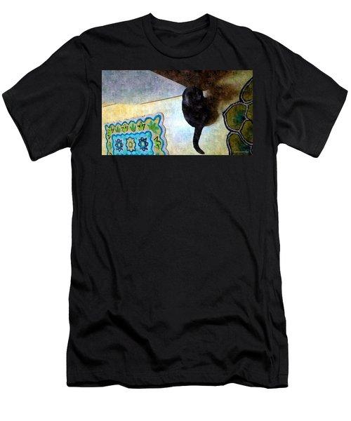 In Or Out  Men's T-Shirt (Slim Fit) by Karl Reid