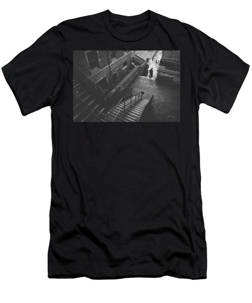 In Pursuit Of The Devil On The Stairs Men's T-Shirt (Athletic Fit)