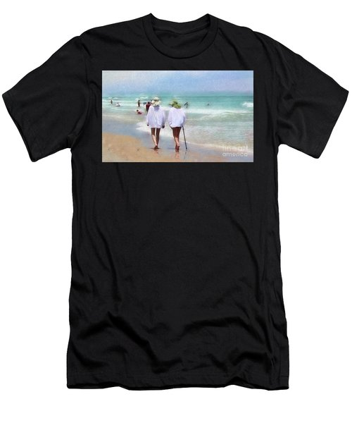 In Step With Life Men's T-Shirt (Athletic Fit)