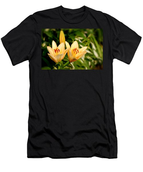 Men's T-Shirt (Athletic Fit) featuring the photograph In The Beginning by Angie Tirado