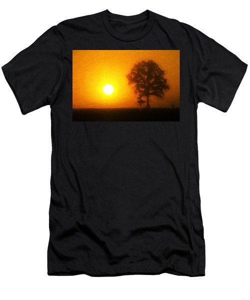 Men's T-Shirt (Athletic Fit) featuring the painting In The Beginning by Dan Sproul
