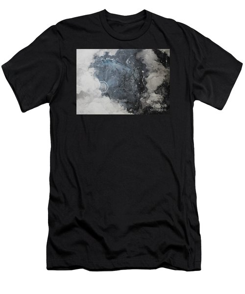 In The Beginning Men's T-Shirt (Slim Fit) by Elizabeth Carr