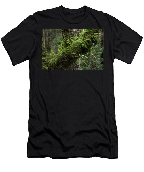 Men's T-Shirt (Slim Fit) featuring the photograph In The Cool Of The Forest by Mike Eingle