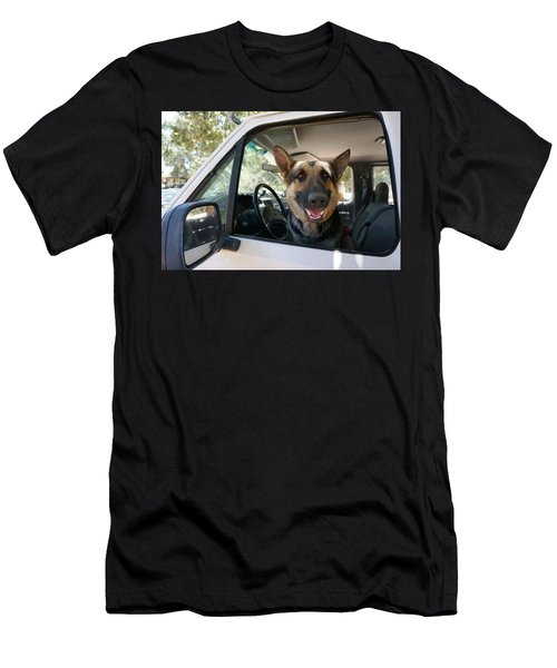 In The Driver's Seat  Men's T-Shirt (Athletic Fit)