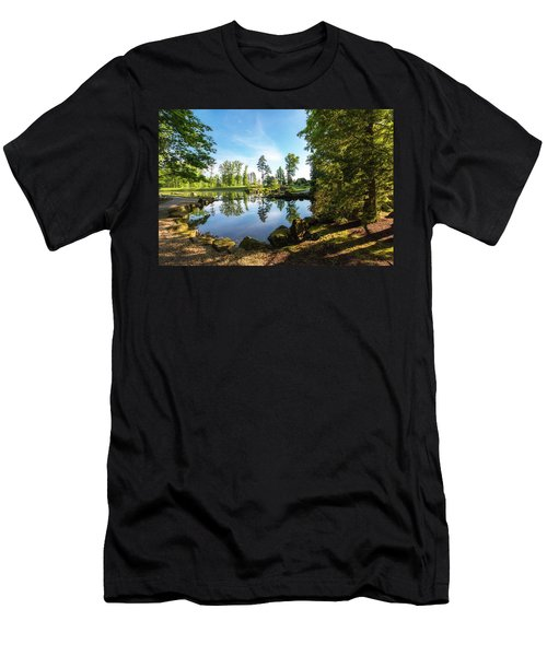Men's T-Shirt (Slim Fit) featuring the photograph In The Early Morning Light by Tom Mc Nemar