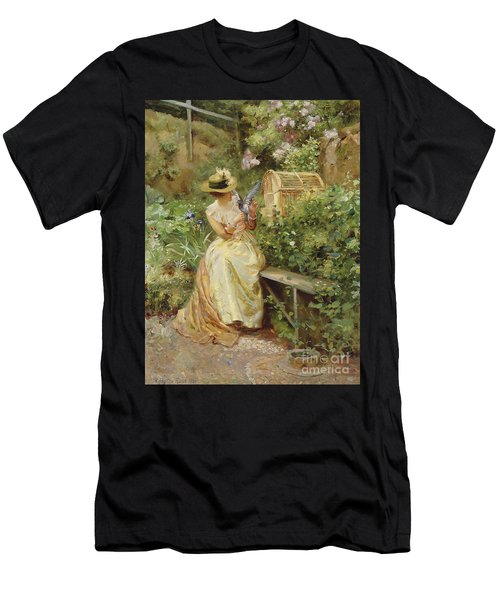 In The Garden, 1892 Men's T-Shirt (Athletic Fit)