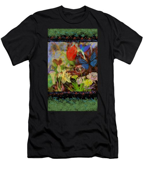 In The Garden With Love Men's T-Shirt (Athletic Fit)