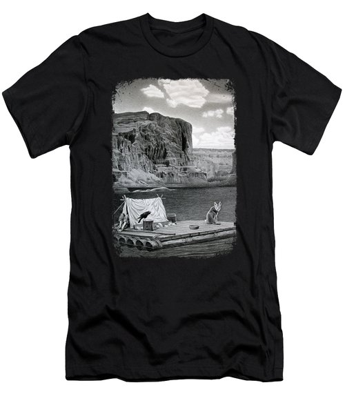 In The Grand Canyon Men's T-Shirt (Athletic Fit)