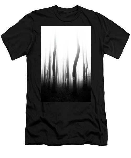 In The Misty Forest Men's T-Shirt (Athletic Fit)