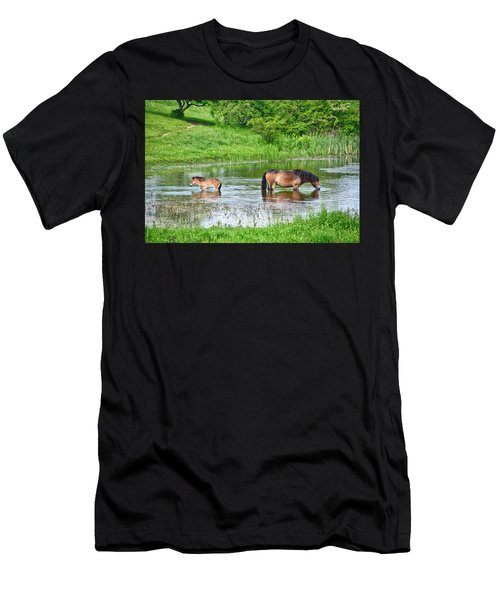 In The Puddle 1 Men's T-Shirt (Athletic Fit)