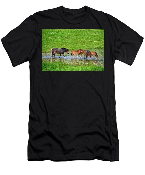 In The Puddle 2 Men's T-Shirt (Athletic Fit)