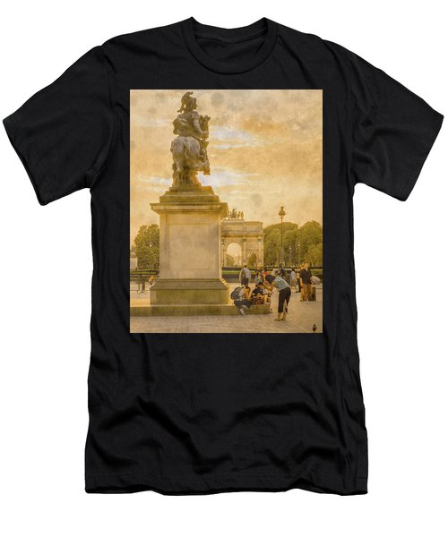 Paris, France - In The Shadow Of Glory Men's T-Shirt (Athletic Fit)