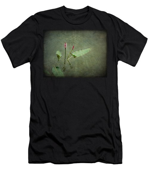 In The Stillness... Love Whispers My Name Men's T-Shirt (Athletic Fit)