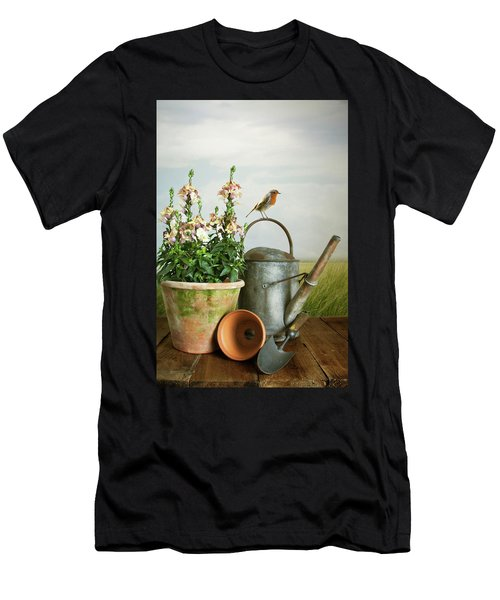 In The Vintage Garden Men's T-Shirt (Athletic Fit)