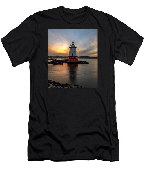 Men's T-Shirt (Slim Fit) featuring the photograph In Time  by Anthony Fields