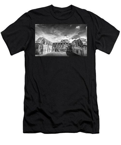 Inca Walls. Men's T-Shirt (Athletic Fit)
