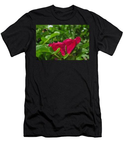 Incoming Rose Men's T-Shirt (Athletic Fit)