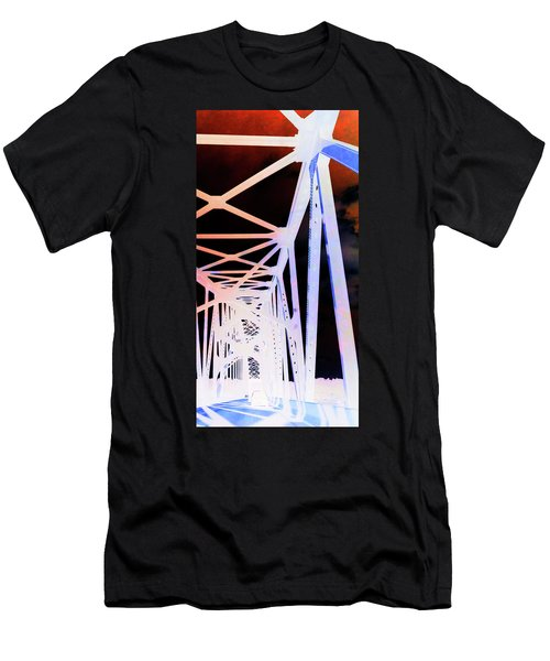 Men's T-Shirt (Slim Fit) featuring the photograph Indefinite Sight In by Jamie Lynn