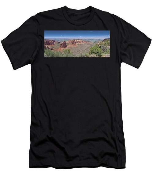 Independence Pano Men's T-Shirt (Athletic Fit)