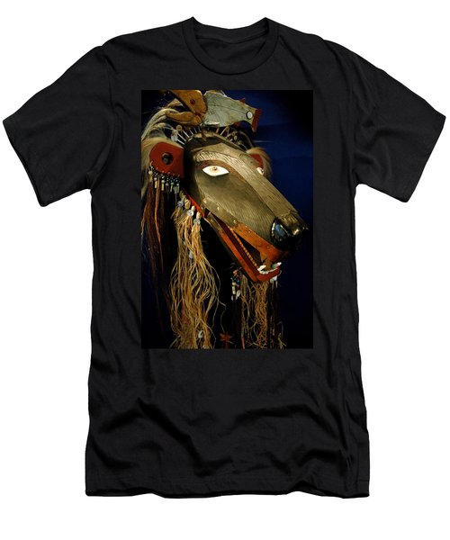 Indian Animal Mask Men's T-Shirt (Athletic Fit)