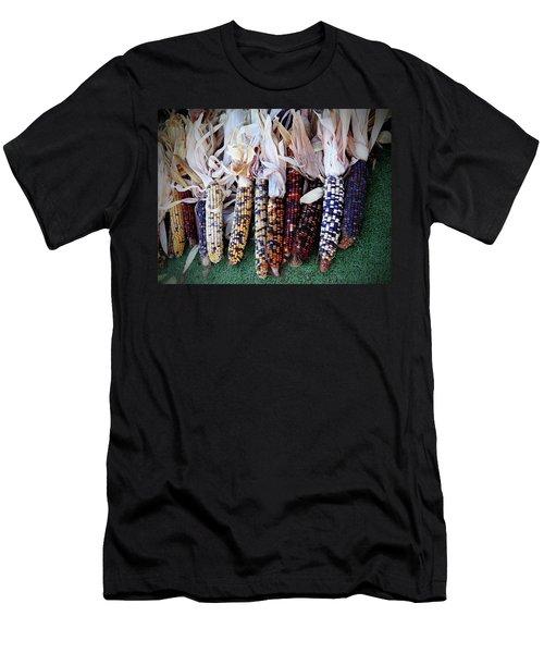 Indian Corn Men's T-Shirt (Athletic Fit)