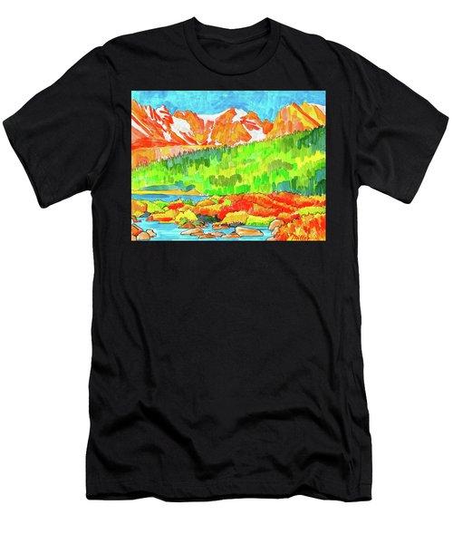 Indian Peaks Wilderness Men's T-Shirt (Athletic Fit)
