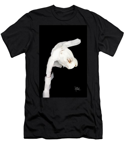 Indian Pipe Flower Men's T-Shirt (Athletic Fit)