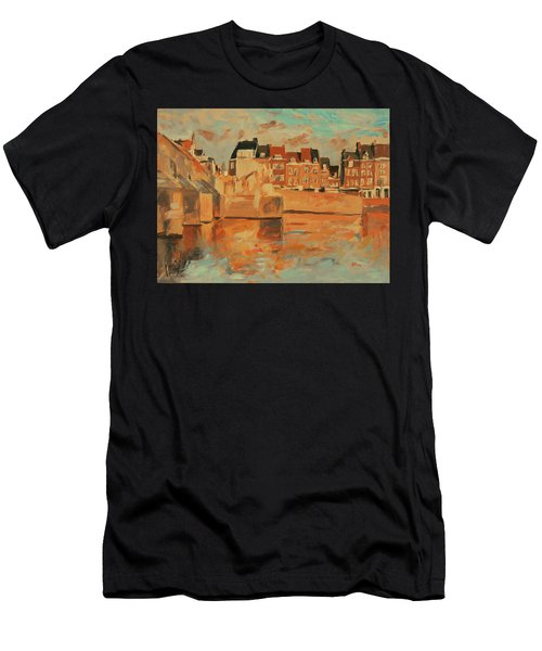 Indian Summer Light Maastricht Men's T-Shirt (Athletic Fit)