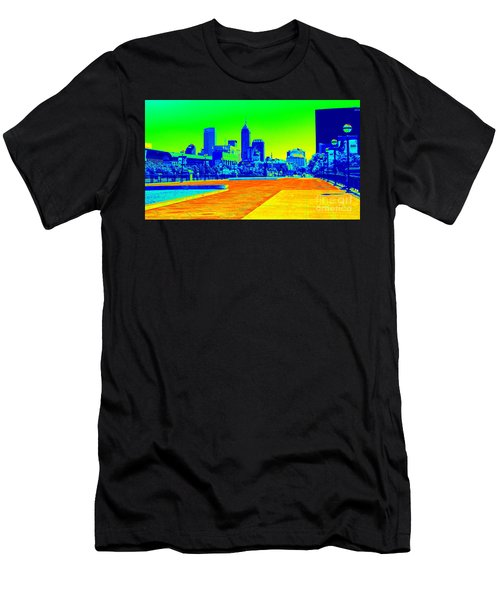 Indianapolis Heat Tone Men's T-Shirt (Athletic Fit)