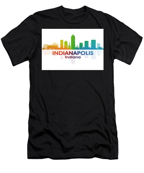 Indianapolis In Men's T-Shirt (Athletic Fit)