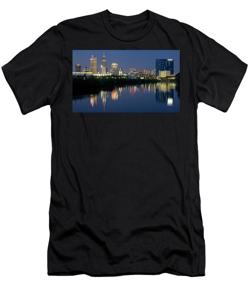 Indianapolis Night Men's T-Shirt (Athletic Fit)